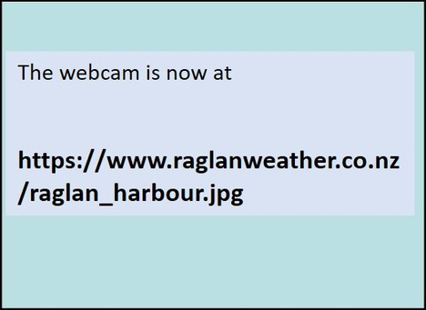Raglan-Manu Bay Webcam